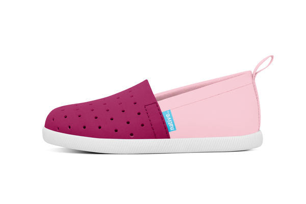 Native Shoes VENICE Raspberry/Pink 2-Tone (Size Little Kid C4 - Big Kid J3)