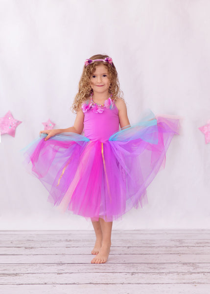 Pink Poppy Magical Blossom Fairy Dress - Pink