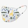 Children's Washable Face Mask with Antimicrobial Protection - Jungle Animals