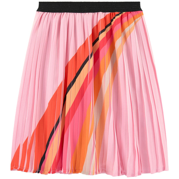 Catimini Girl's Pleated Rainbow Skirt