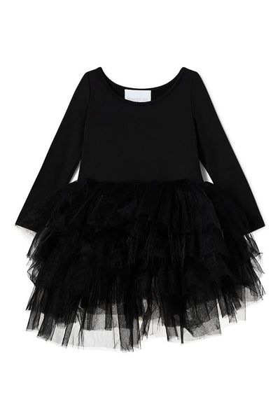 B.F.F.  Long Sleeve Tutu Dress - Stella