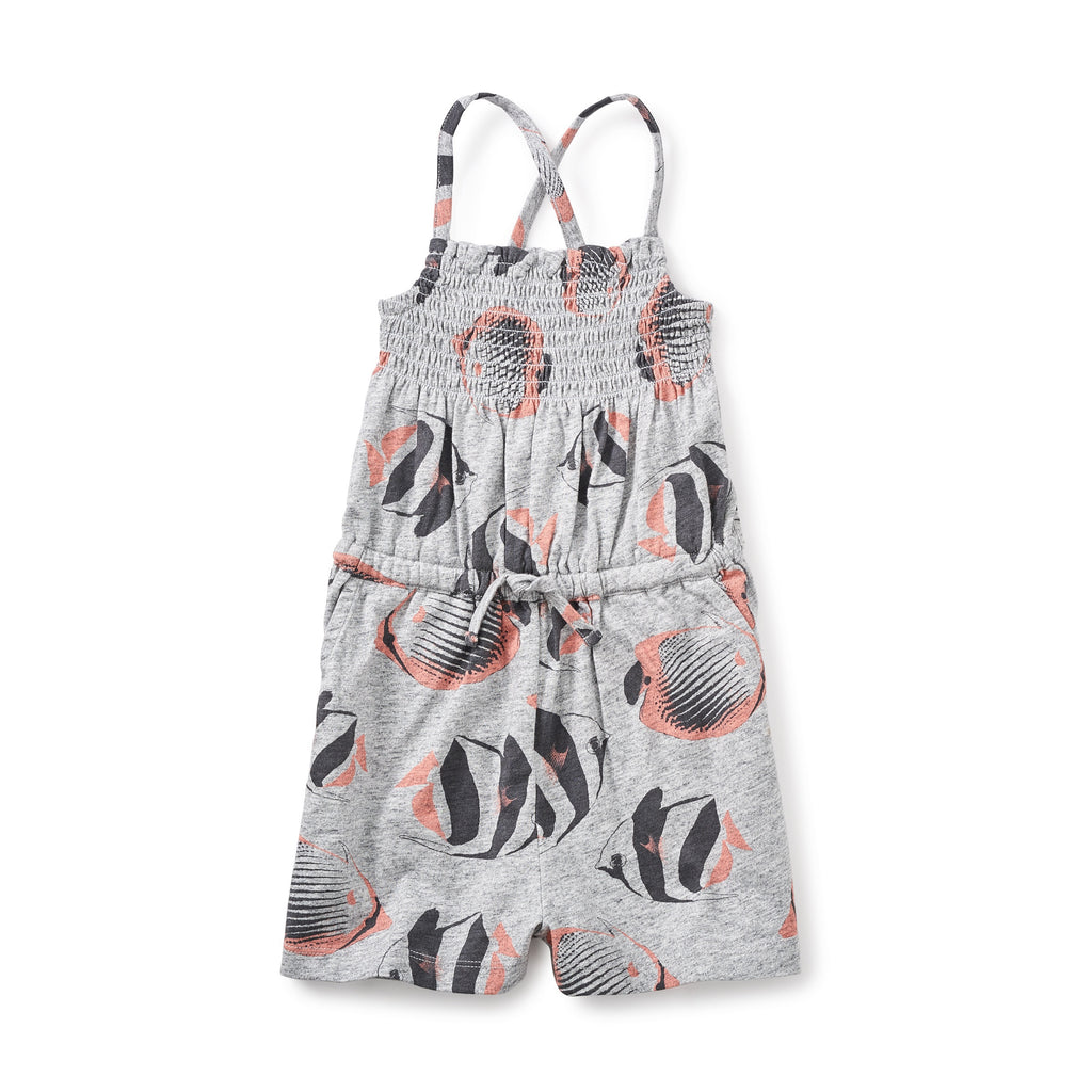 40de945c92727 Tea Collection Esperance Smocked Girl Romper - 30% OFF & Free ...