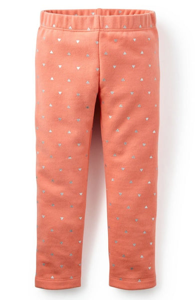 Tea Collection Baby Triangulo Fleece Leggings (3-6m)