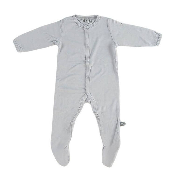 Kyte Baby Solid Footie in Storm