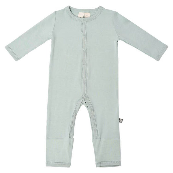 Kyte Baby Solid Romper in Sage