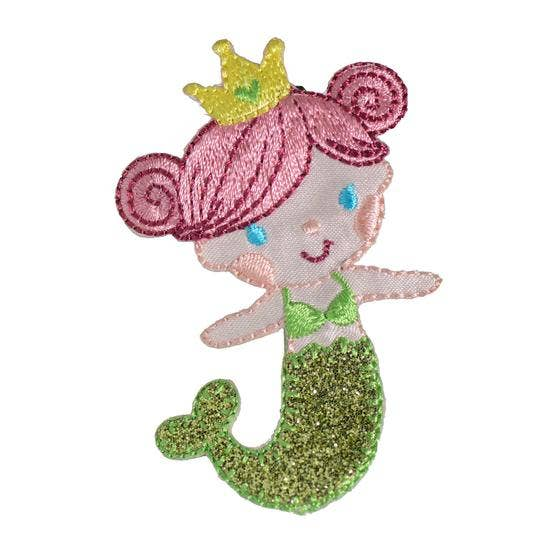 No Slippy Hair Clippy - Fiona Lime Mermaid Novelty Hair Clip