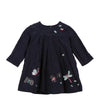 Catimini Embroidered Velvet Dress  (Size 12m, 18m)