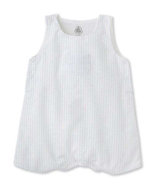 Petit Bateau BABY OVERALL WITH FRONT POCKET