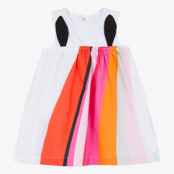 Catimini Girl's Amusing Rainbow Dress