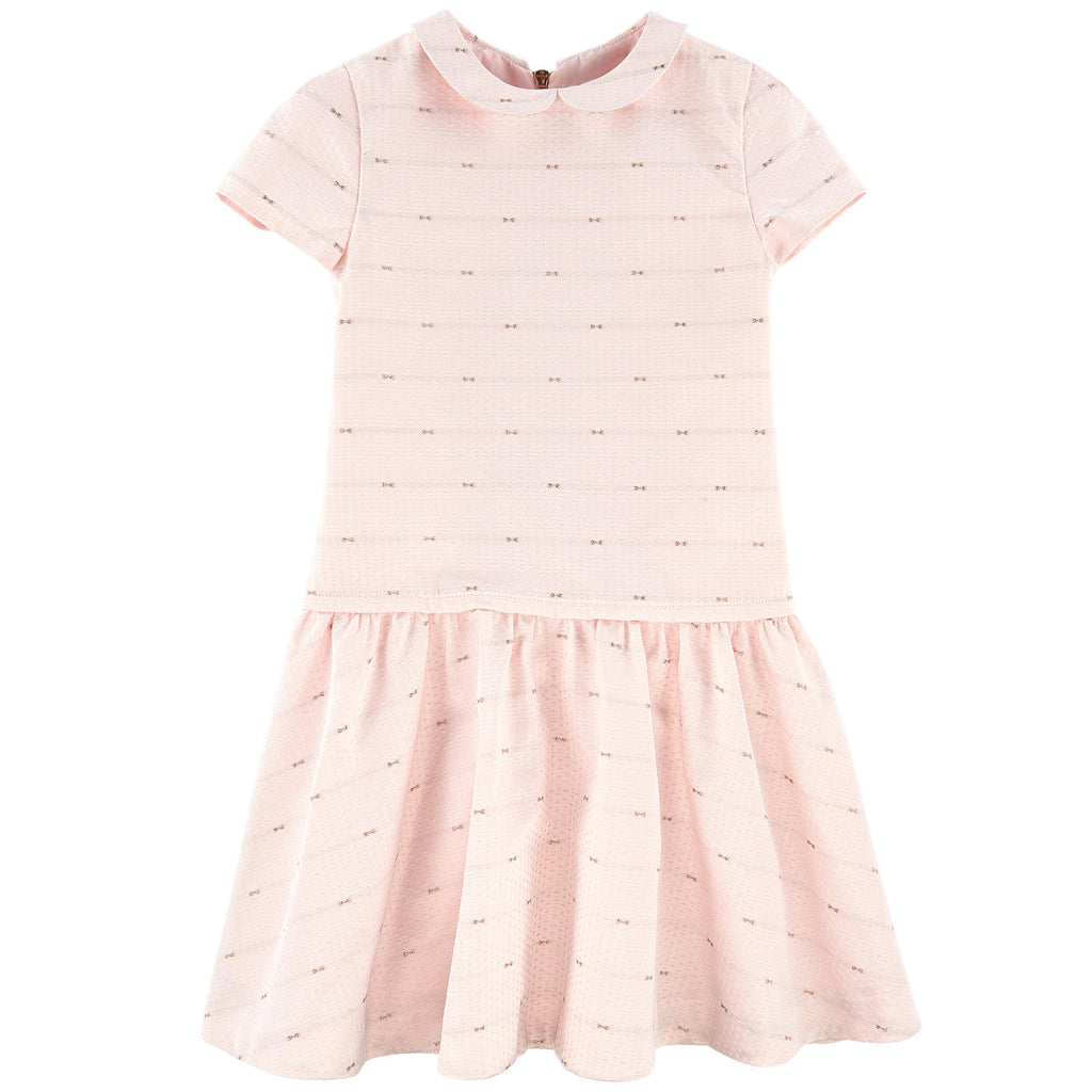 Shimmering Jacquard Party Dress by Tartine et Chocolat