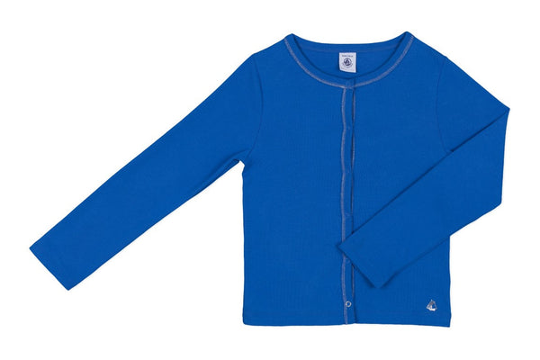 GIRL CARDIGAN - Blue