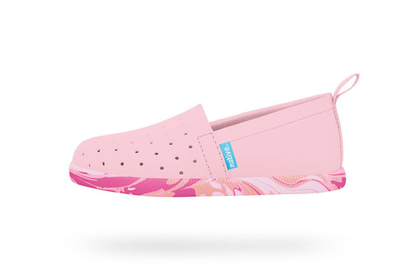Native Shoes VENICE in Hollywood Pink/Marble (Size C4, C6, C8)