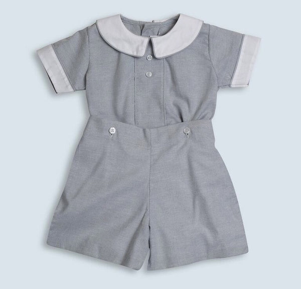 Dondolo Boy Huckleberry Button-On (18m, 3T)