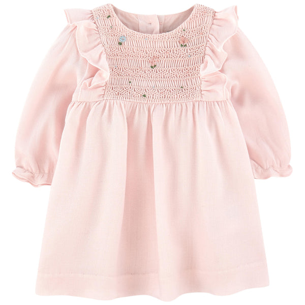 Smocked Baby Dress by Tartine et Chocolat