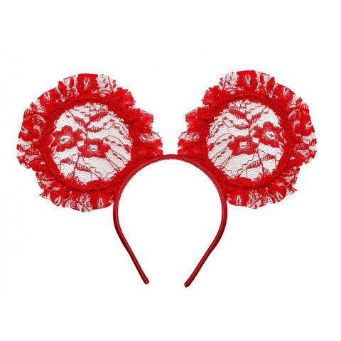 Tutu Du Monde Mini Me Headband in Scarlet