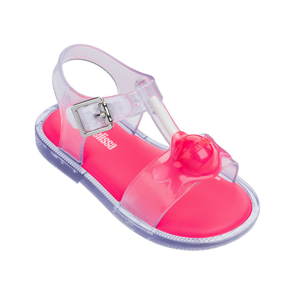 Mini Melissa Mini Mar Sandal II in Clear (Size 5, 6, 8, 9, 10, 12)