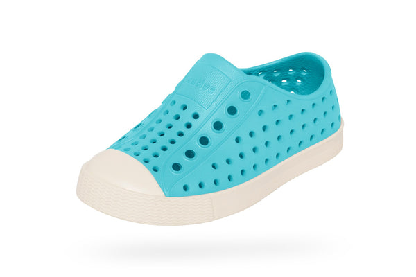 Native Shoes Jefferson Child Surfer Blue/Bone White