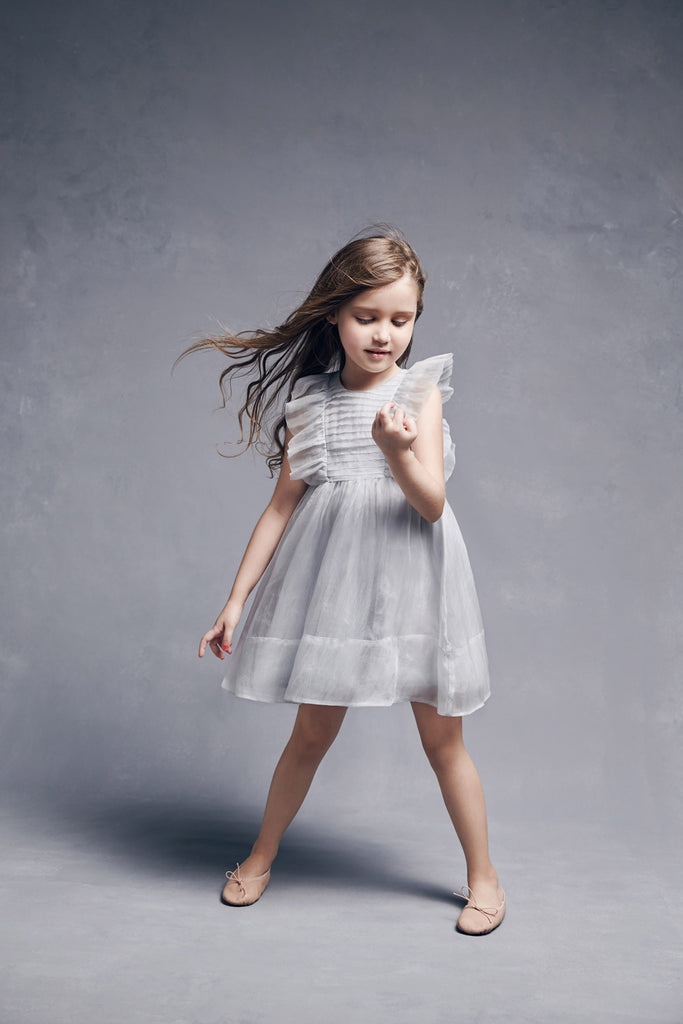 Nellystella Love Mae Dress in Artic Ice