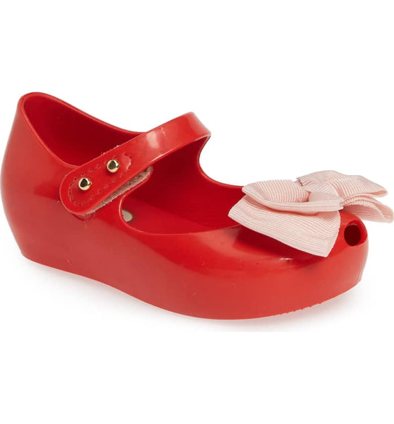 Mini Melissa Ultragirl Sweet in Red/Pink