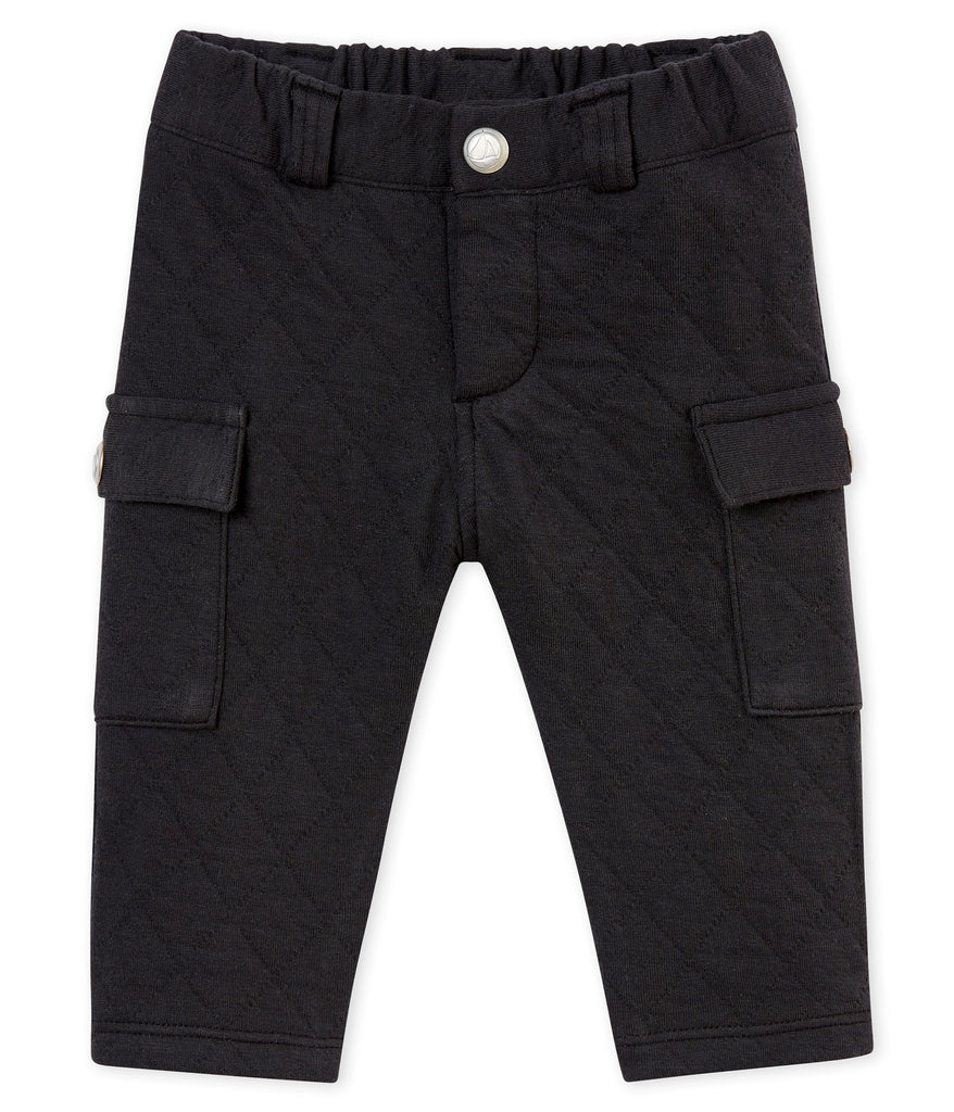 Petit Bateau Baby Boy's Quilted Cotton Tubic Pants