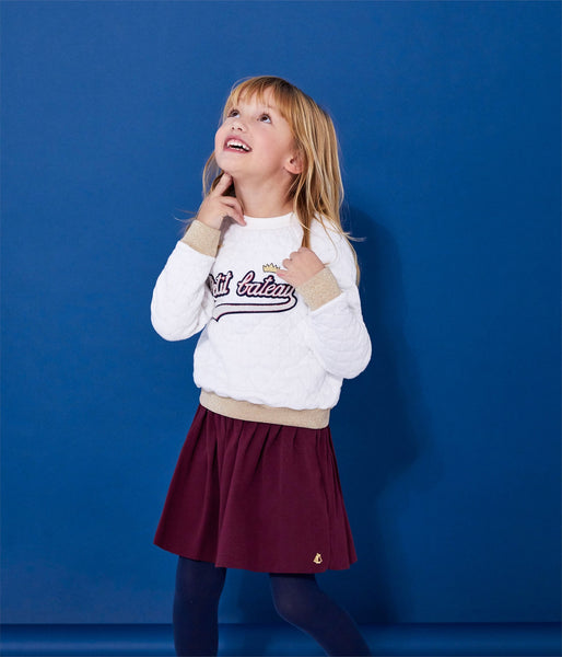 Petit Bateau Girl's Sweatshirt with Graphic