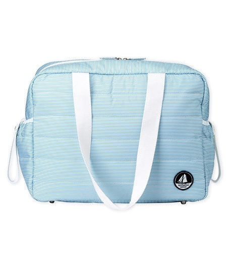 Petit Bateau Unisex Baby Pinstriped Changing Bag