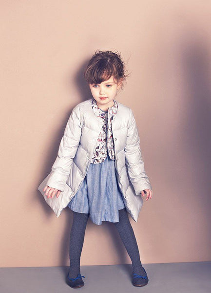 Nellystella Laura Down Coat  in Lavender Fog (Size 2, 4) - Available!