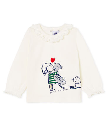Petit Bateau Baby Girls' Long-Sleeved T-Shirt (12m, 24m)