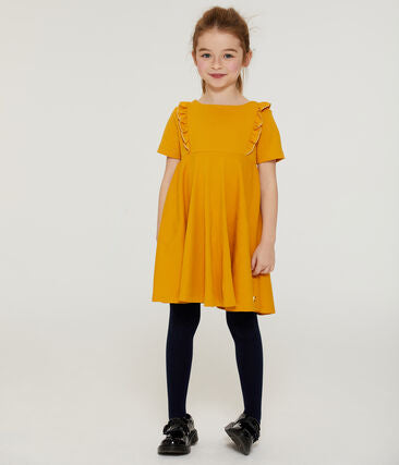 Petit Bateau Girls' Short-Sleeved Dress