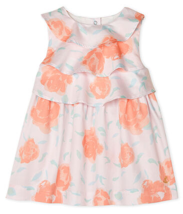Petit Bateau Baby Girl's Printed Satin Dress