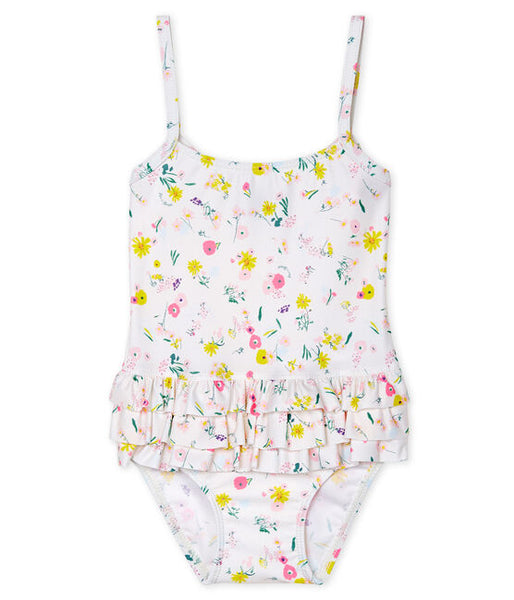 Petit Bateau Baby Girls' Eco-Friendly Swimsuit