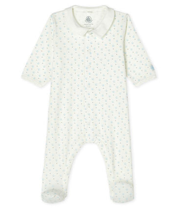 Petit Bateau Baby Boys' Ribbed Sleep-suit