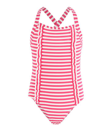 Petit Bateau Girls' Sun Proof Swimsuit