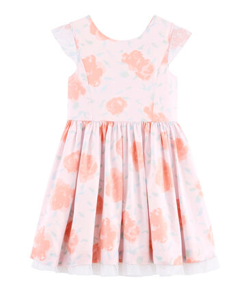 Petit Bateau Girls' Floral Dress