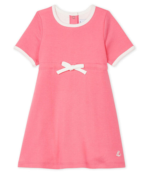 Petit Bateau Baby Girls' Short-Sleeved Bodysuit/Dress