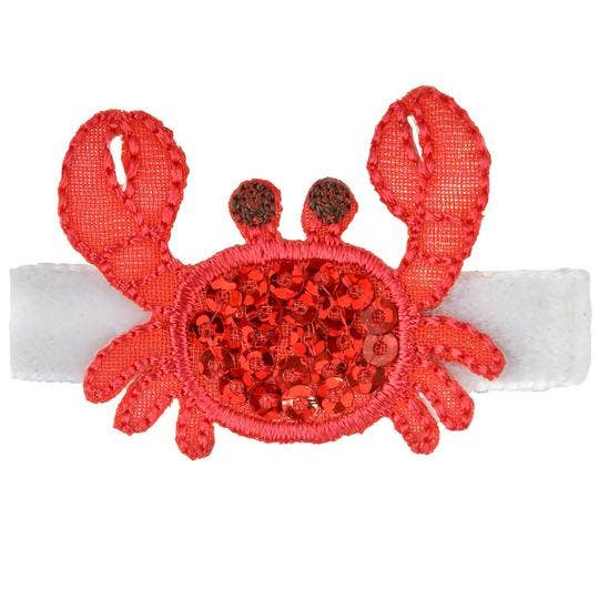 Seraphina Crab Novelty Hair Clip