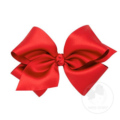 King Classic French Satin Bow