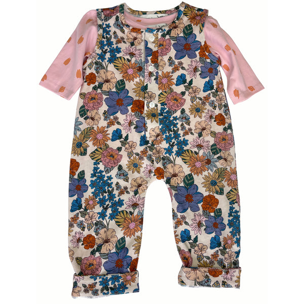 Floral Fancy Romper Set