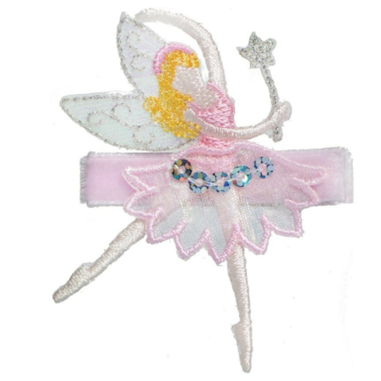No Slippy Hair Clippy - Fiona Pink Fairy Novelty Hair Clip