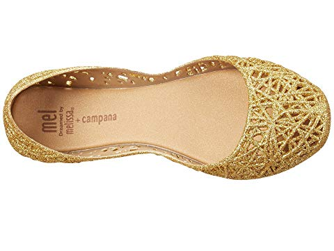 Mel by Mini Melissa Ultragirl Campana in Gold (Size 1, 2)