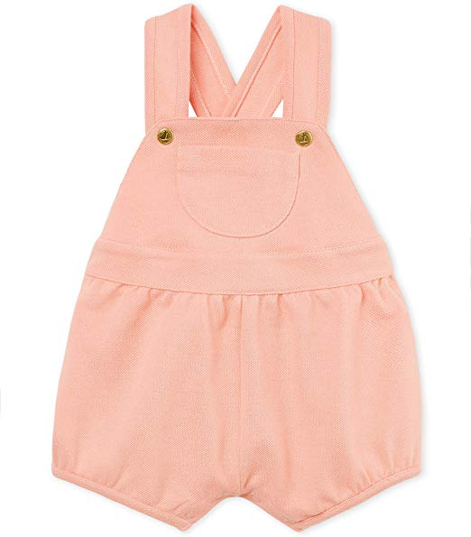 Petit Bateau Baby Girl's Overall