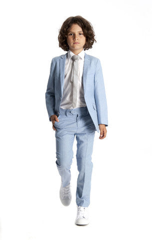 Appaman Boy's Suit in Light Blue (3Y, 4Y, 6Y)