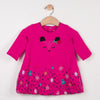 Catimini Jersey Bubble Dress with Charming Pattern