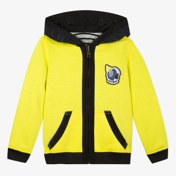 Catimini Kid Boy Reversible Yellow Reversible Jacket