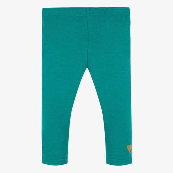 Catimini Baby Girl Leggings in Aquamarine