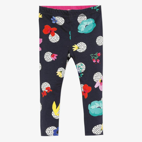 Catimini Baby Girl's Reversible Floral Printed Leggings - NEW*