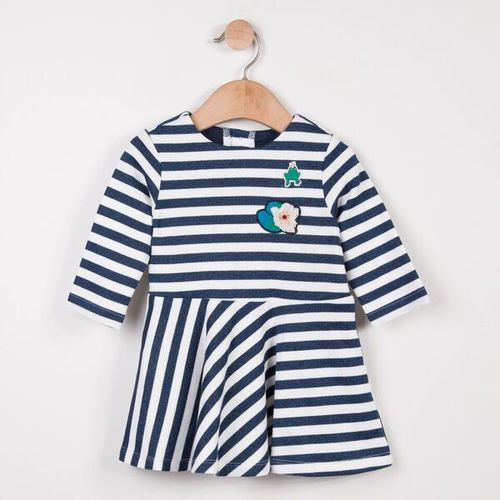 Catimini Baby Glitter Striped Dress