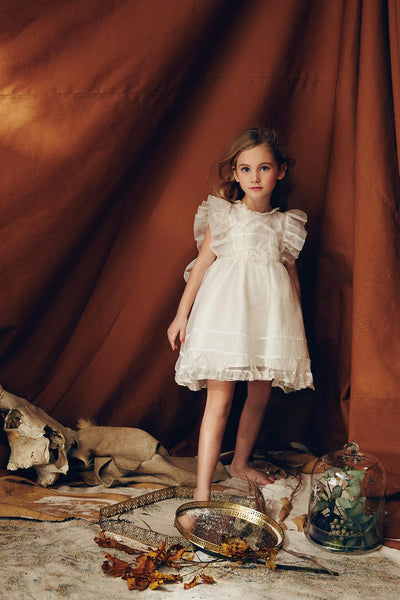 Nellystella Love Flora Dress in White