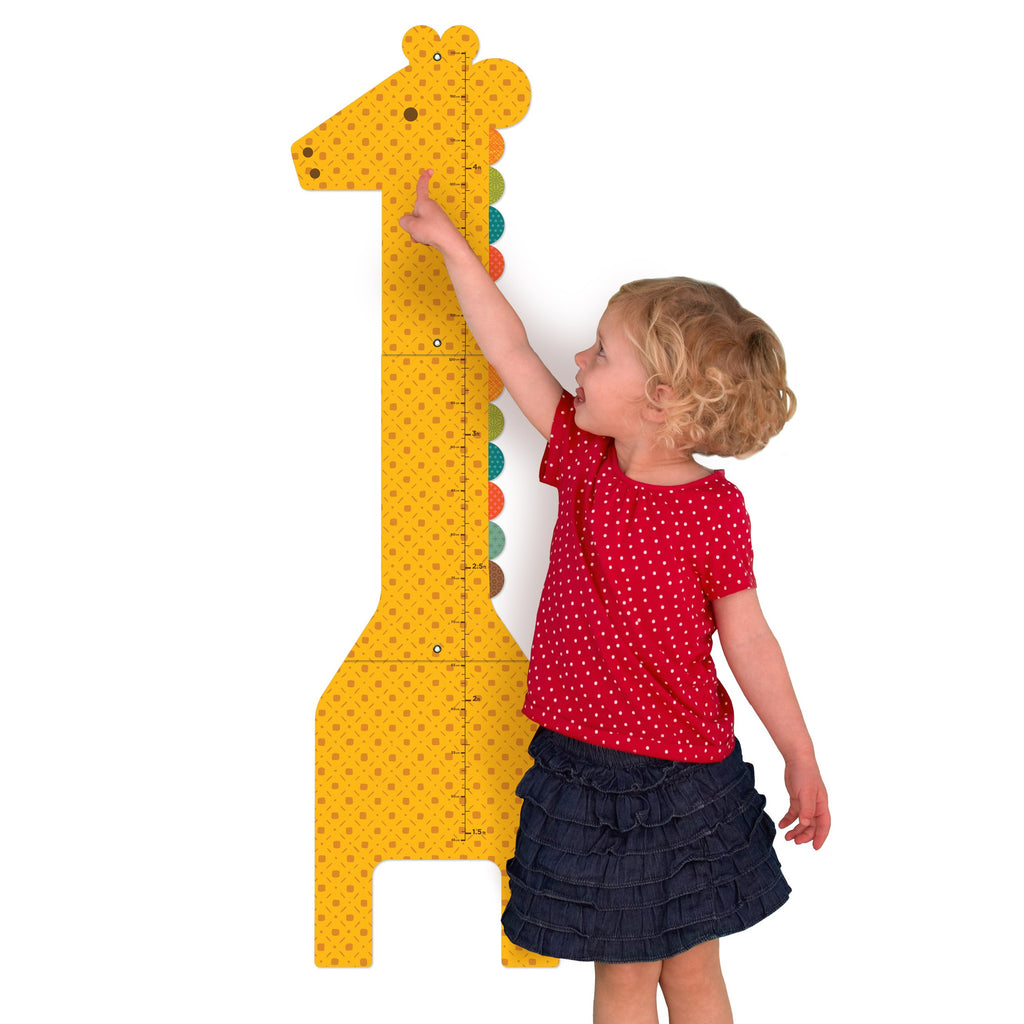 Petit Collage GIANT GIRAFFE  Paper Growth Chart