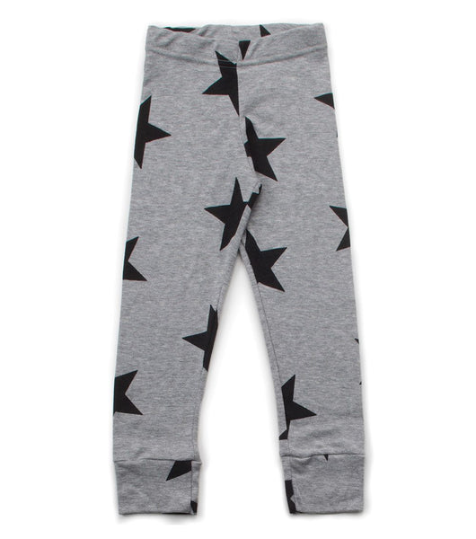 Nununu star legging Grey